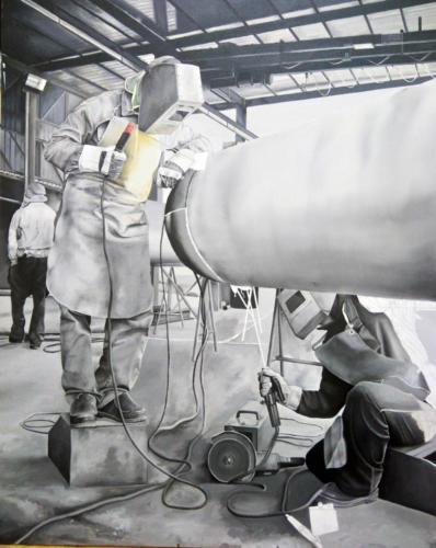 """Metalmeccanici S9-S10"" work in progress."
